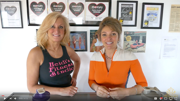 Get Beach Bootcamp Ready with Heidi Jones and Newport Living and Lifestyles