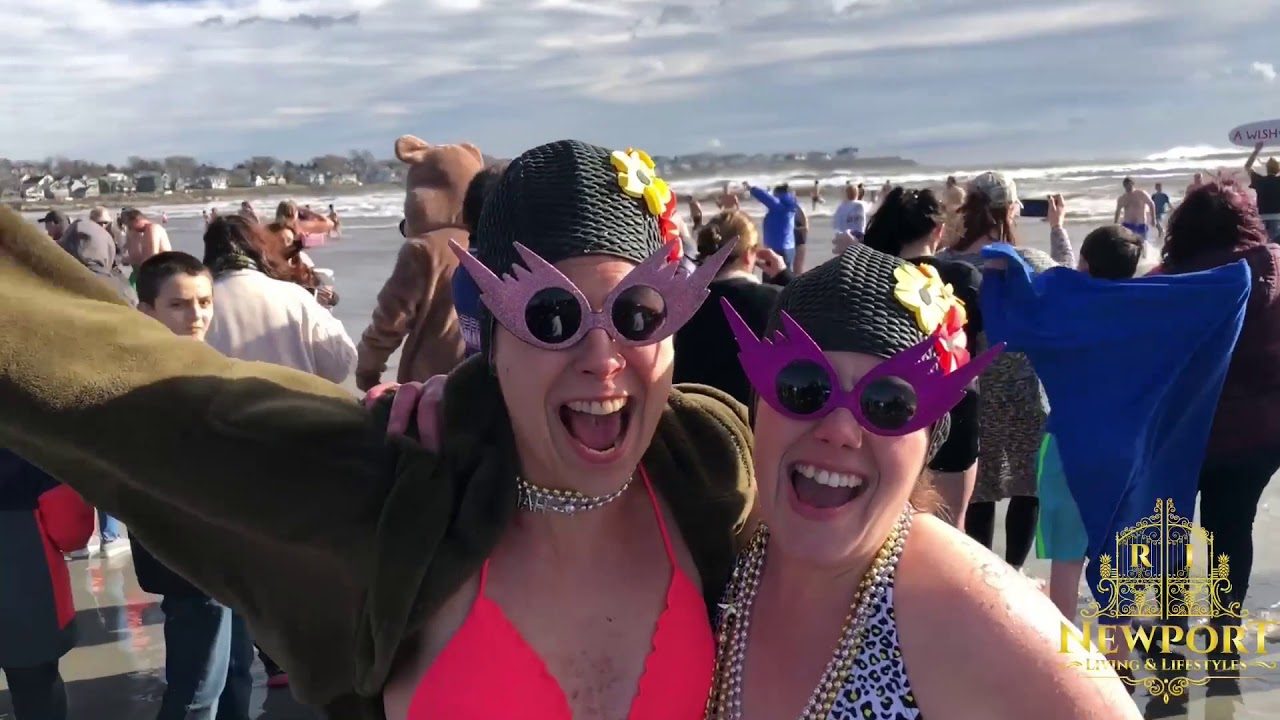 New Years Day 2019 Polar Bear Plunge Benefiting A Wish Come True