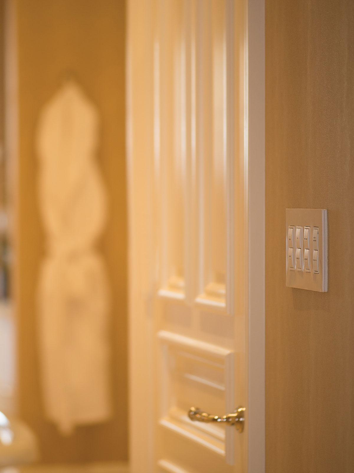 bathroom, keypad, presets