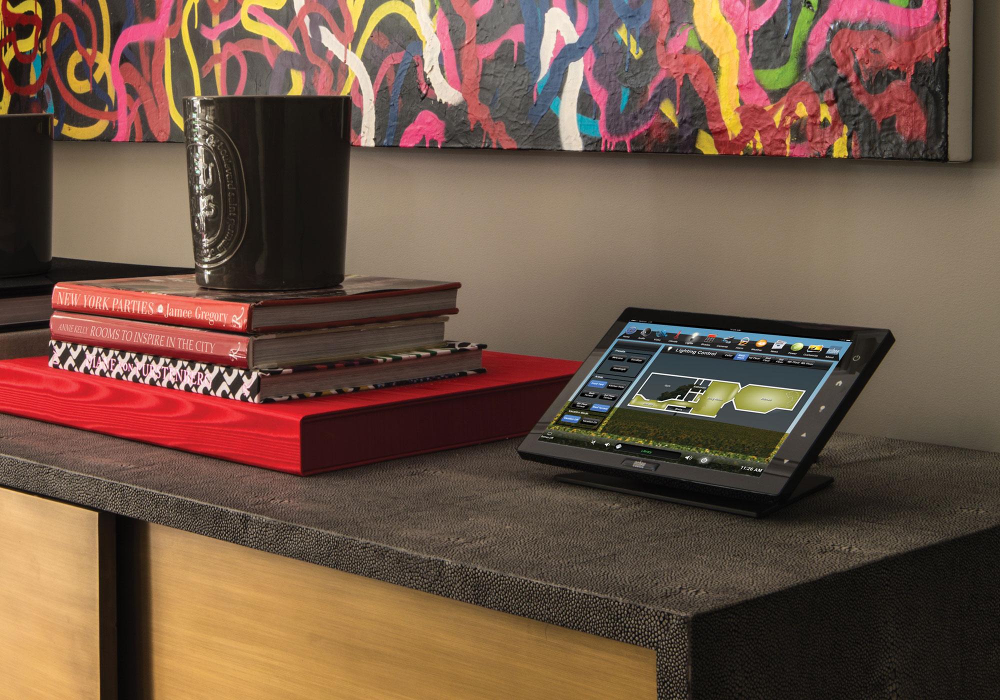 Touchscreen, tabletop touchscreen, lighting screen