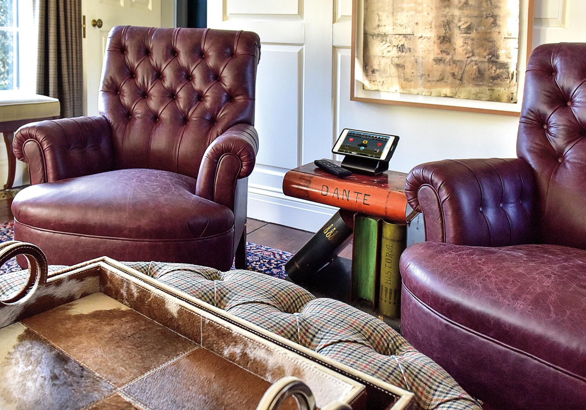 Living room, touchscreen, tabletop touchscreen