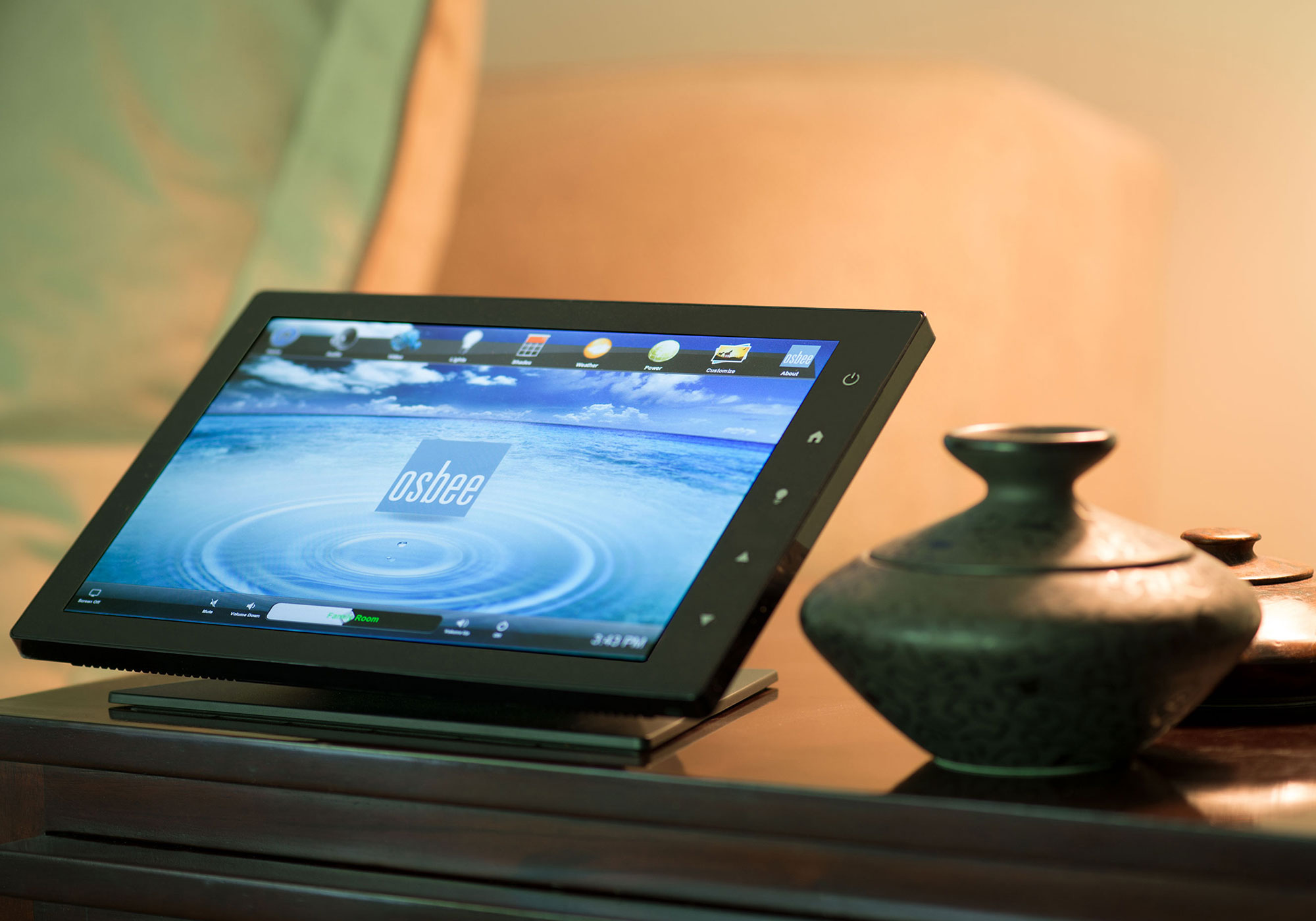 touchscreen, tabletop touchscreen, home screen
