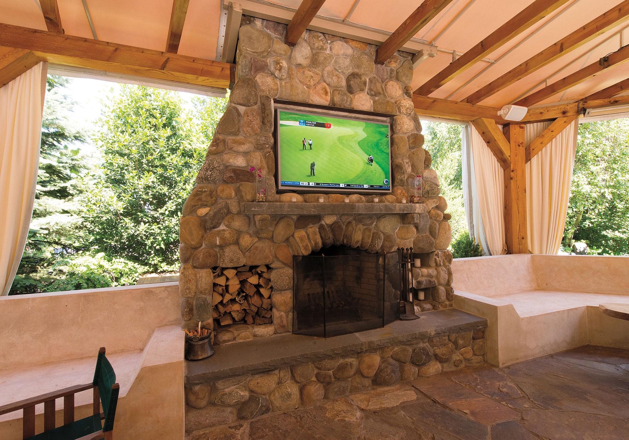 patio, TV, waterproof tv, speakers, waterproof speakers