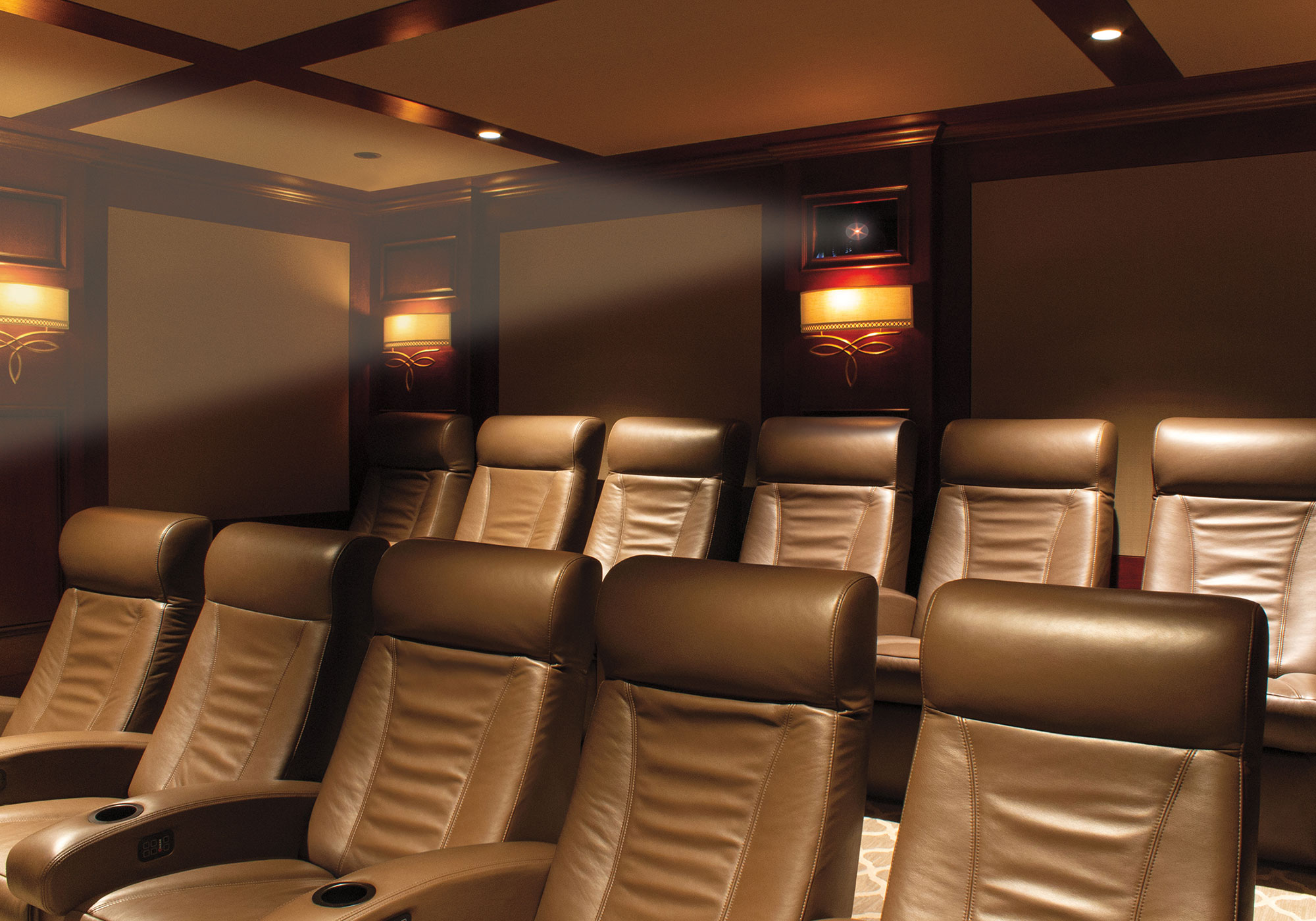 theater, projection system, seating, cineak