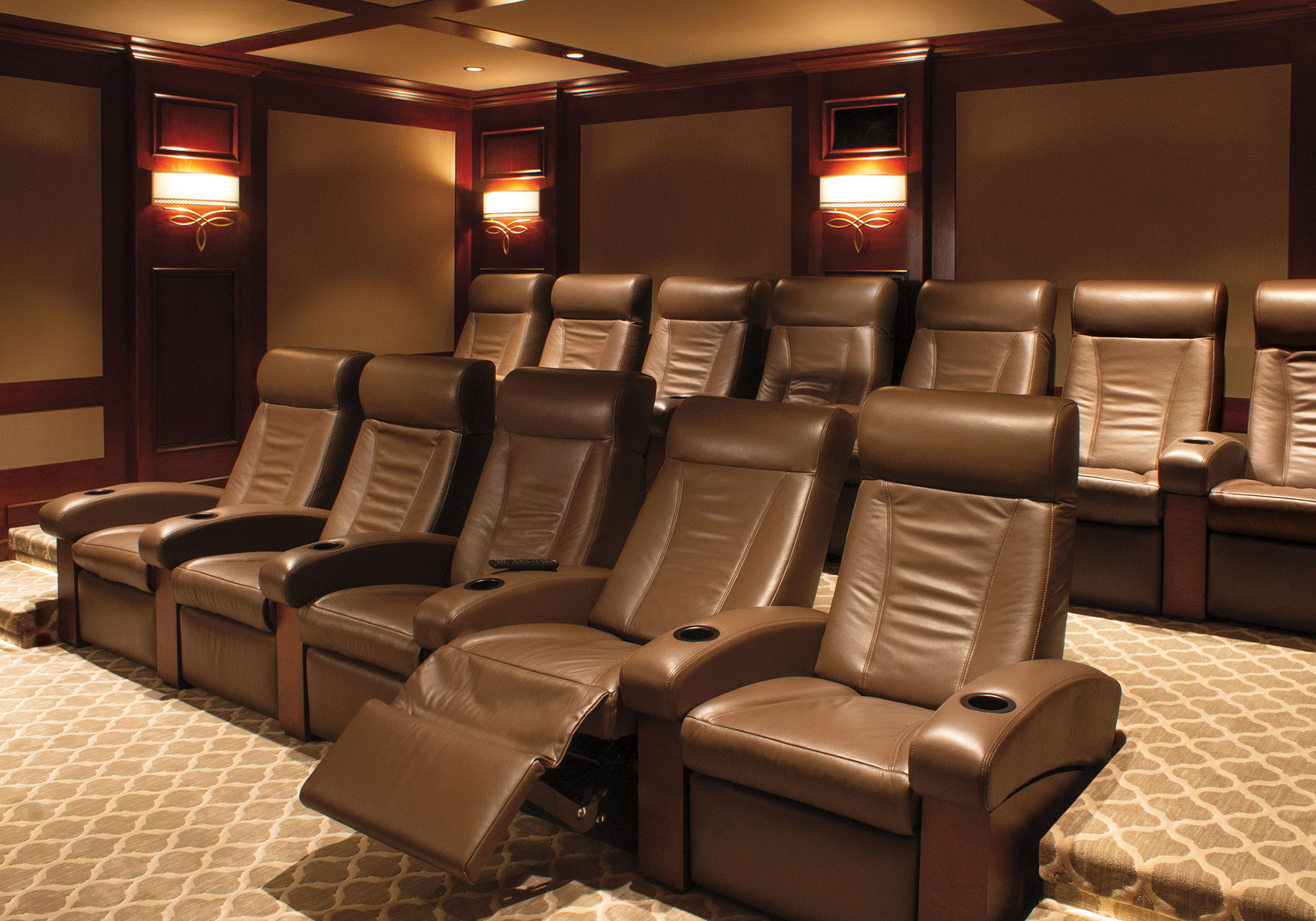 theater, seating, cineak, projection system