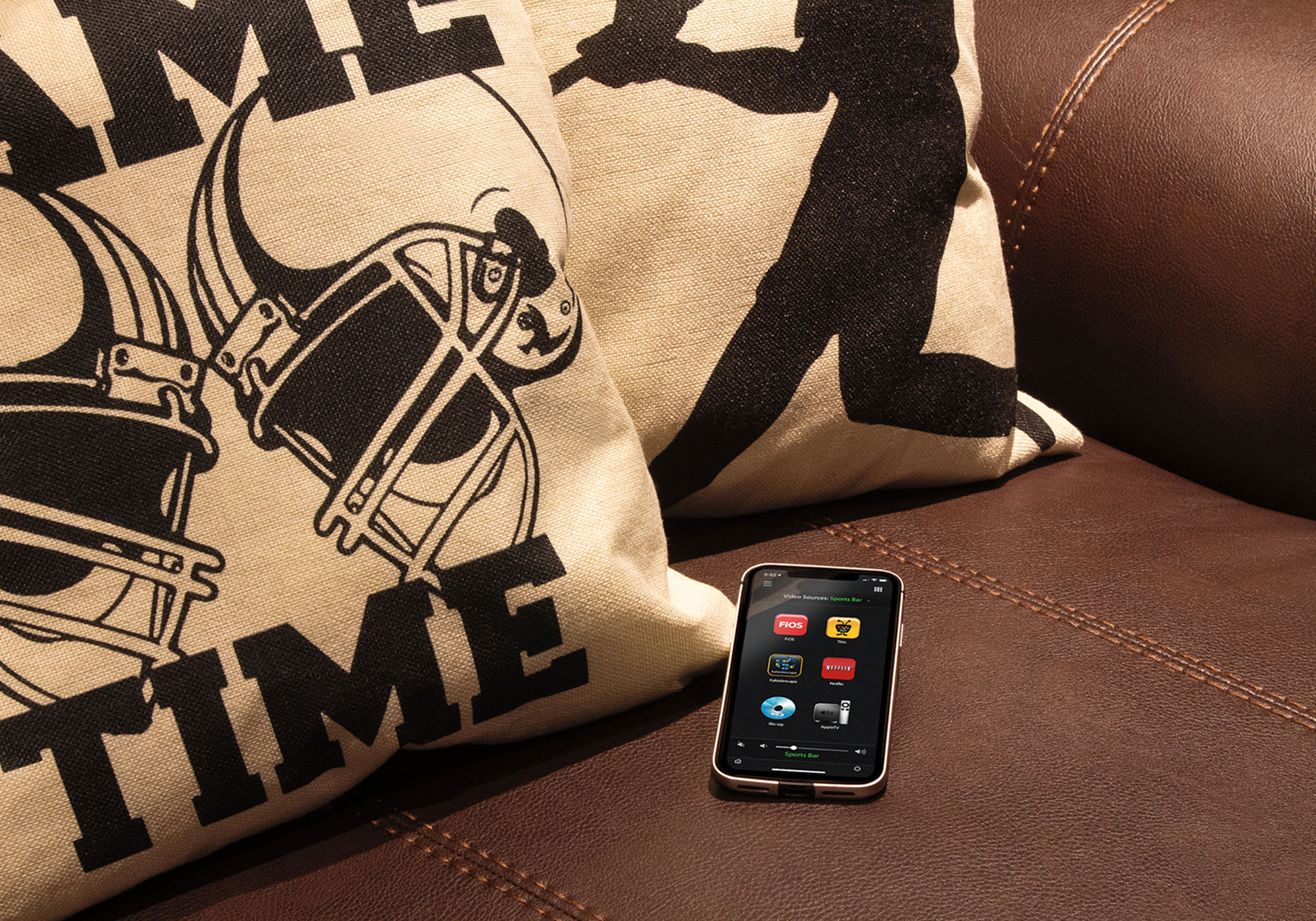 iPhone, video screen