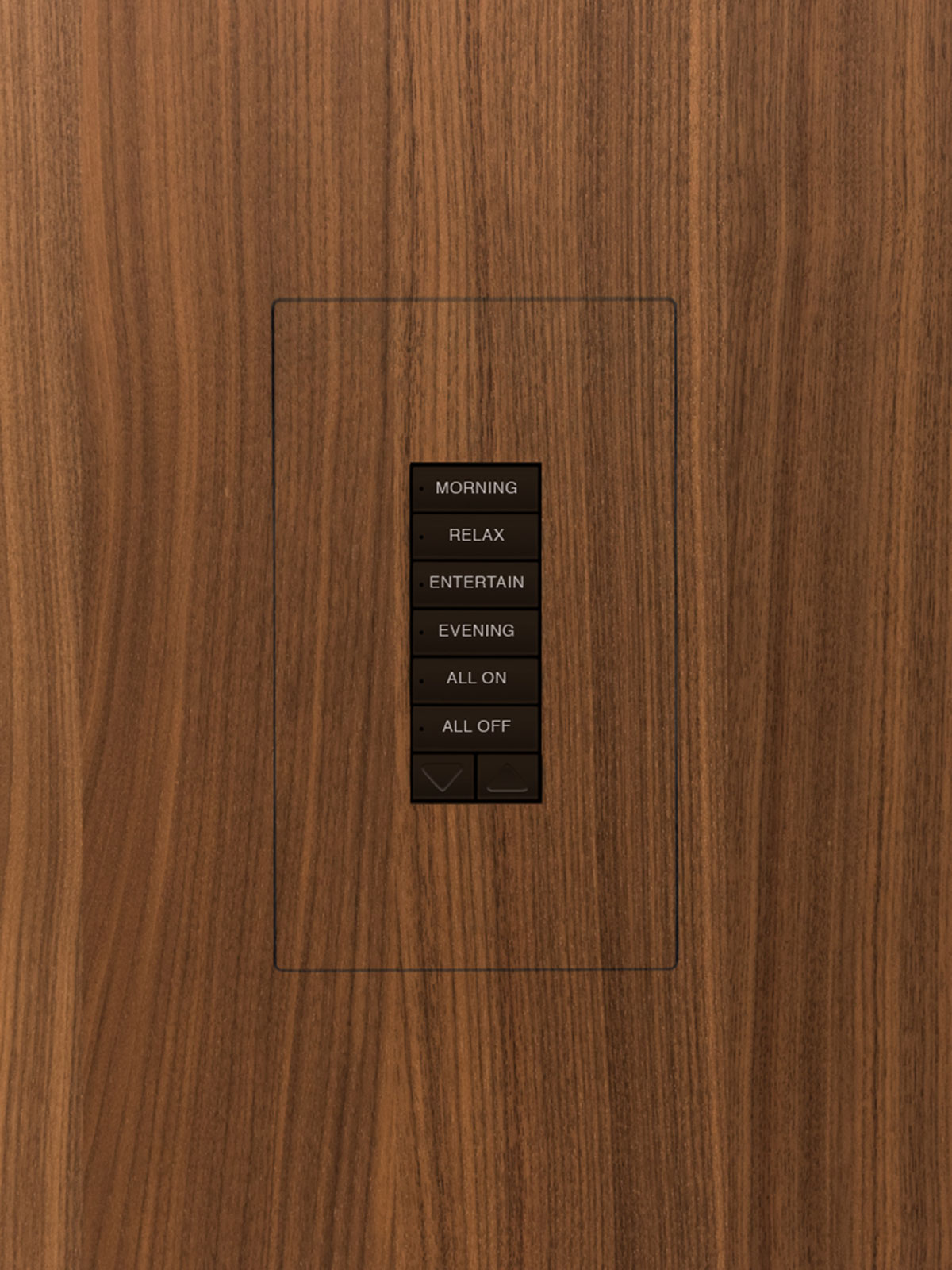 TruFig, flush-mount, keypad, wood, veneer