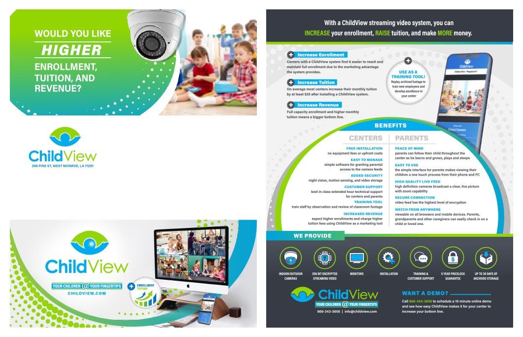 ChildView brochure by Studio 9017