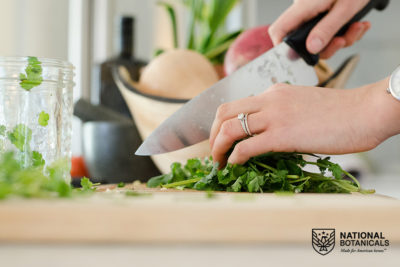 National Botanicals Cooking with CBD