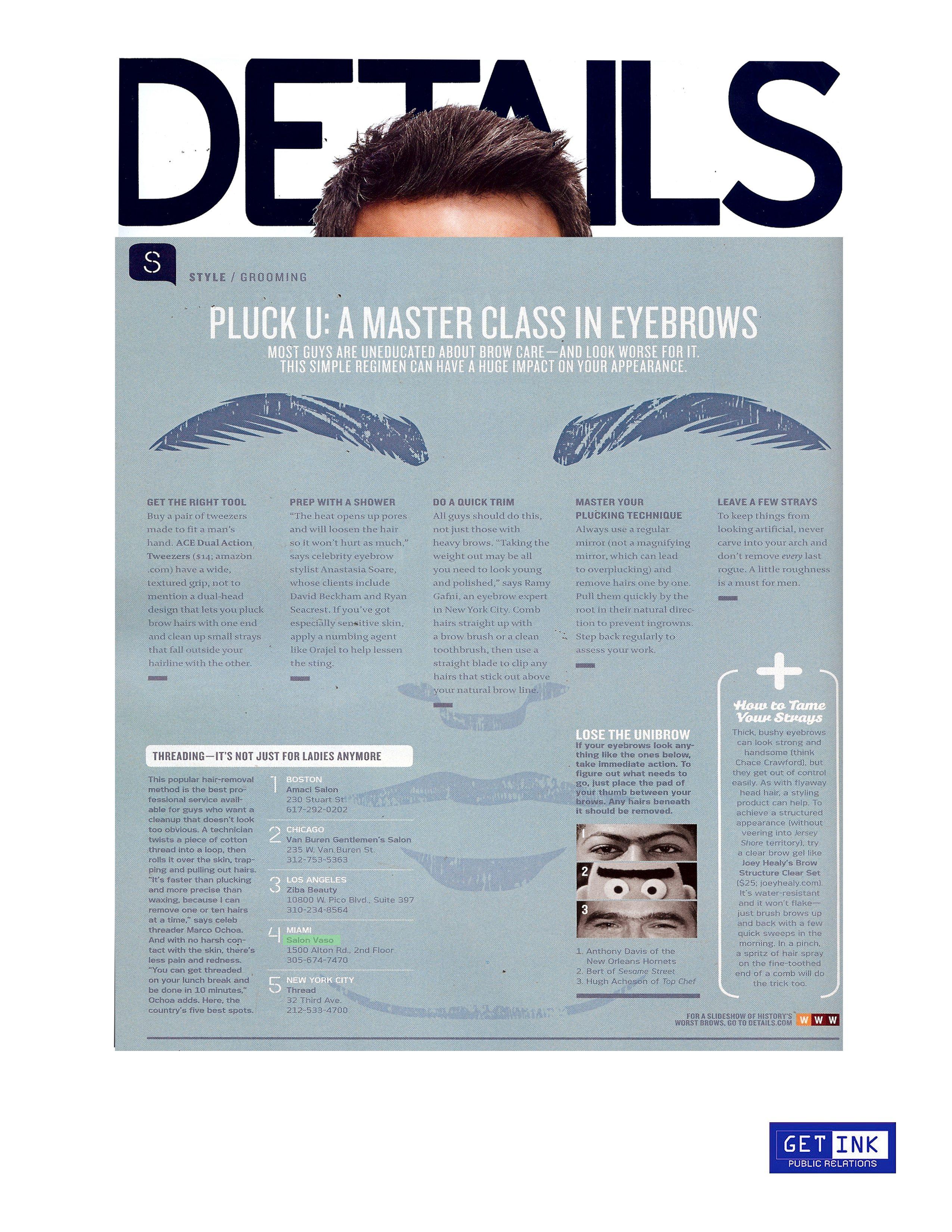 Salon Vaso Miami Beach Details Magazine - Get Ink Pr