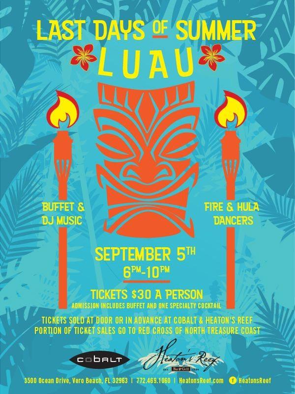 Luau at Cobalt Miami Last Day of Summer - Get Ink PR