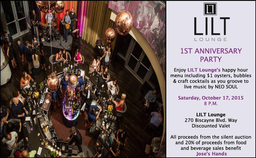 LILT 1 year anniversary Miami - Get Ink PR