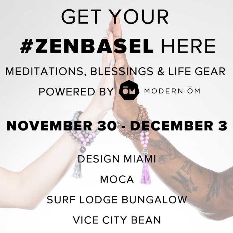 Zen Art Basel Modern OM Miami - Get Ink PR