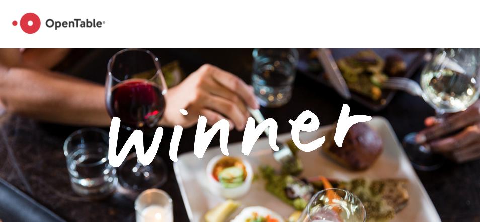 Ototo Den Open Table's Choice Award Denver - Get Ink Pr