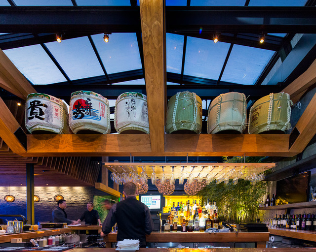 Izakaya Den Denver Bar roof - Get Ink Pr