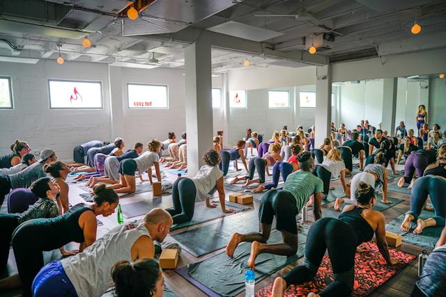 Modo Yoga Miami Beach Yoga Class - Get Ink Pr