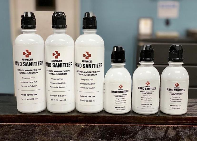 Iconic Medical Group Hand Sanitizer - Get Ink PR