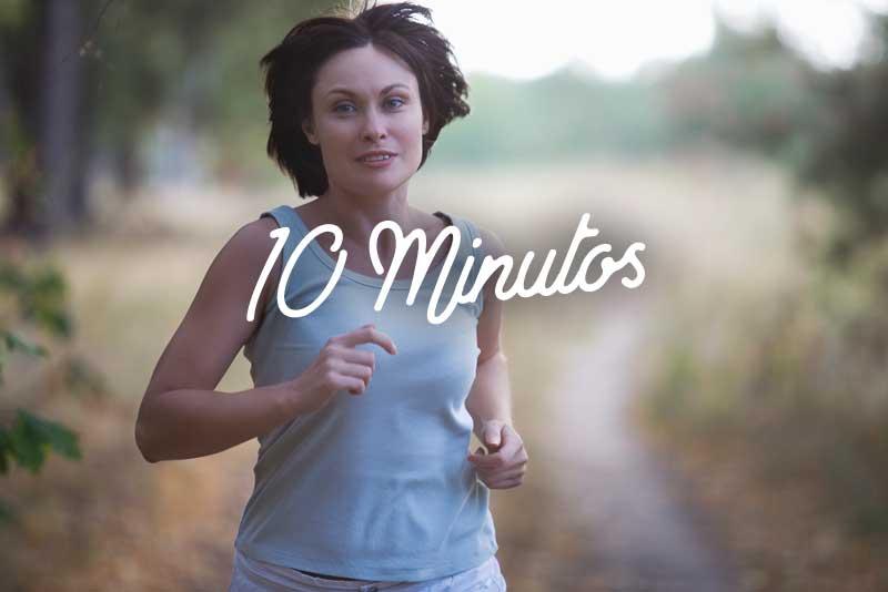 Rutina fácil para caminar 10 minutos