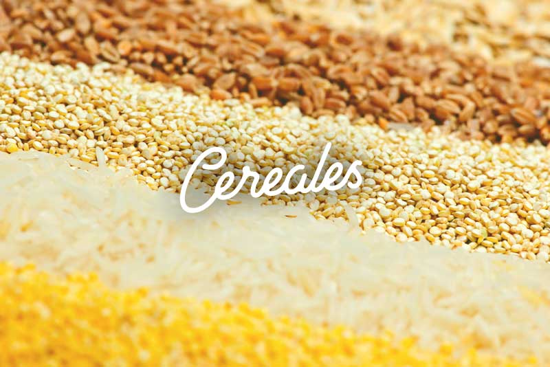 Alacena saludable cereales