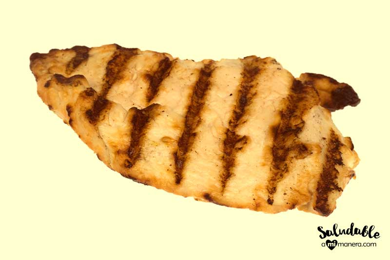 Cambia el menú de pollo