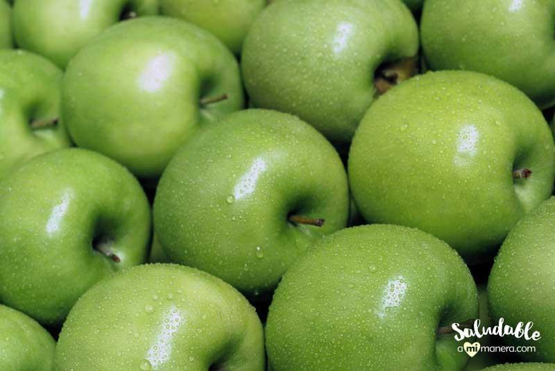 Cambia el menú de manzanas