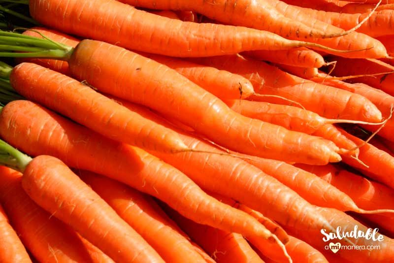 Cambia el menú de zanahorias