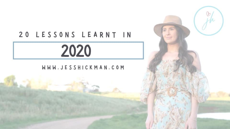 20 lessons learnt in 2020