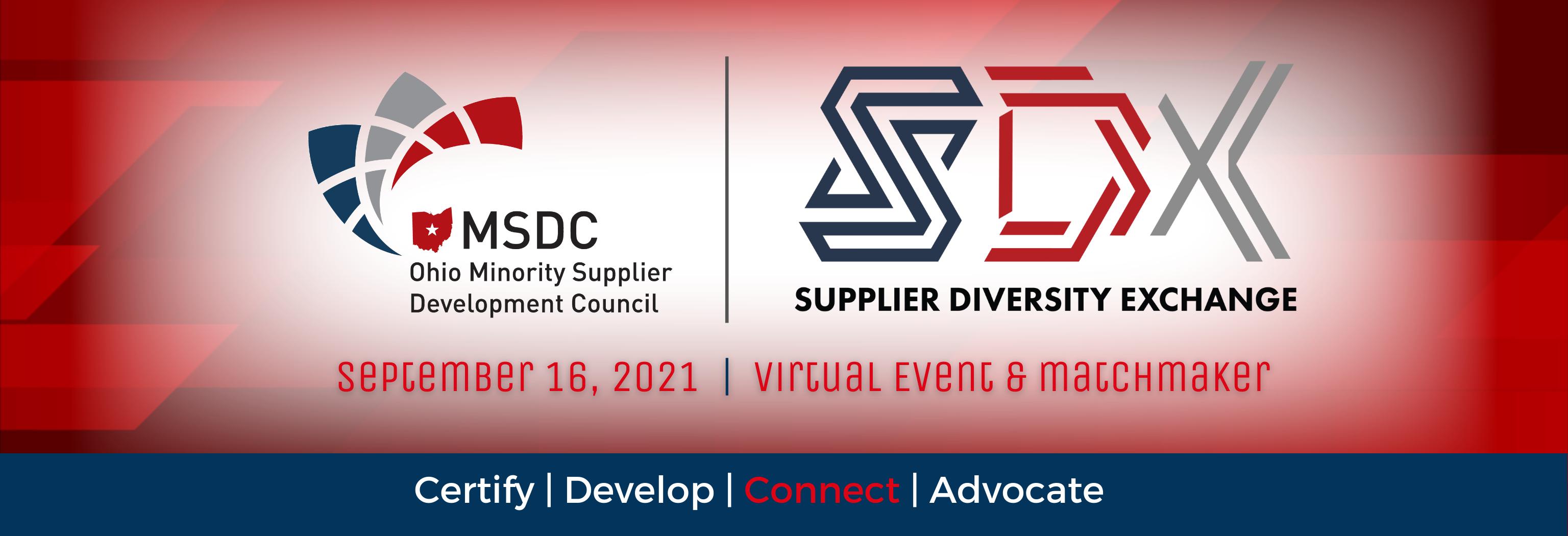 September 16 – OMSDC Supplier Diversity Exchange