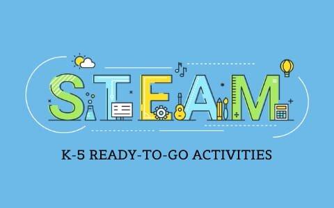 STEAM-K-5 Read to go Activities Booklet