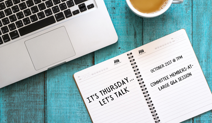 It's Thursday...Let's Talk - Committee Members-at-Large Q&A Session