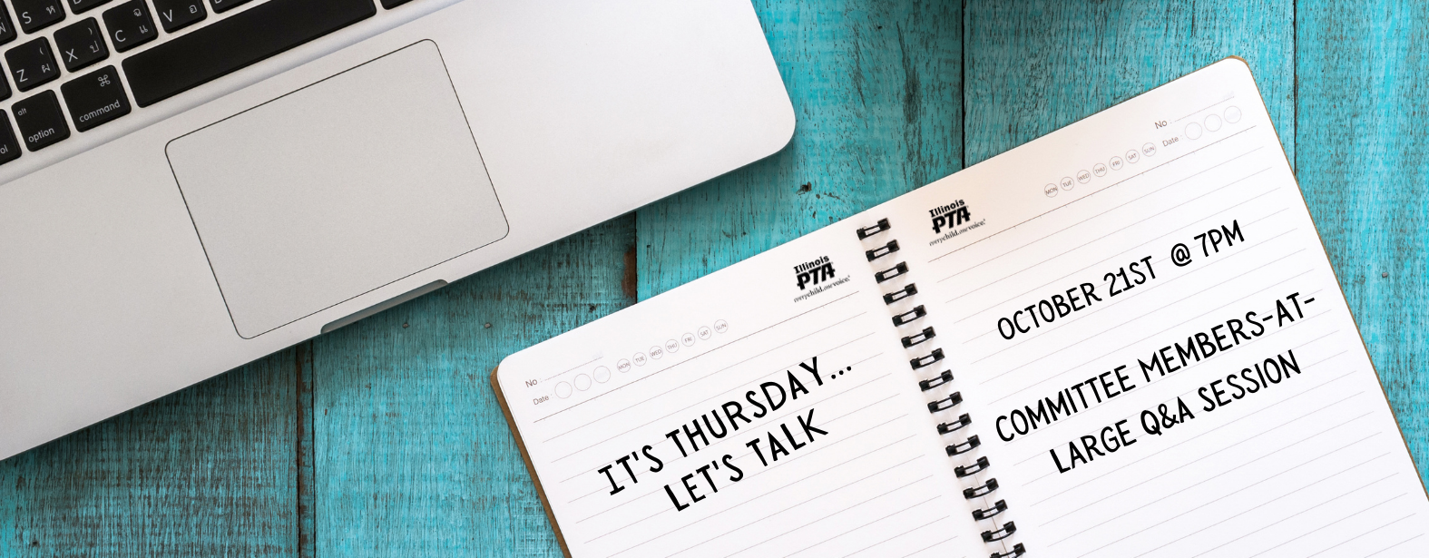It's Thursday...Let's Talk - Committee Members-at-Large Q&A Session web banner