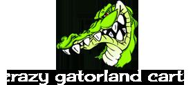 Crazy Gatorland Carts