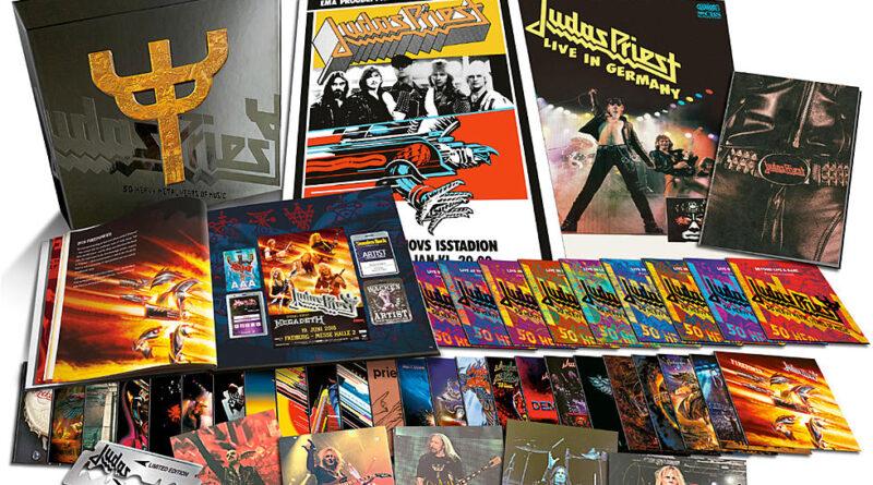 Judas Priest set to unleash 50th anniversary box set