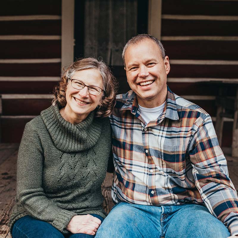 Portrait of Couple Martha and Matt Todd Supporting Pomeroy Cellars