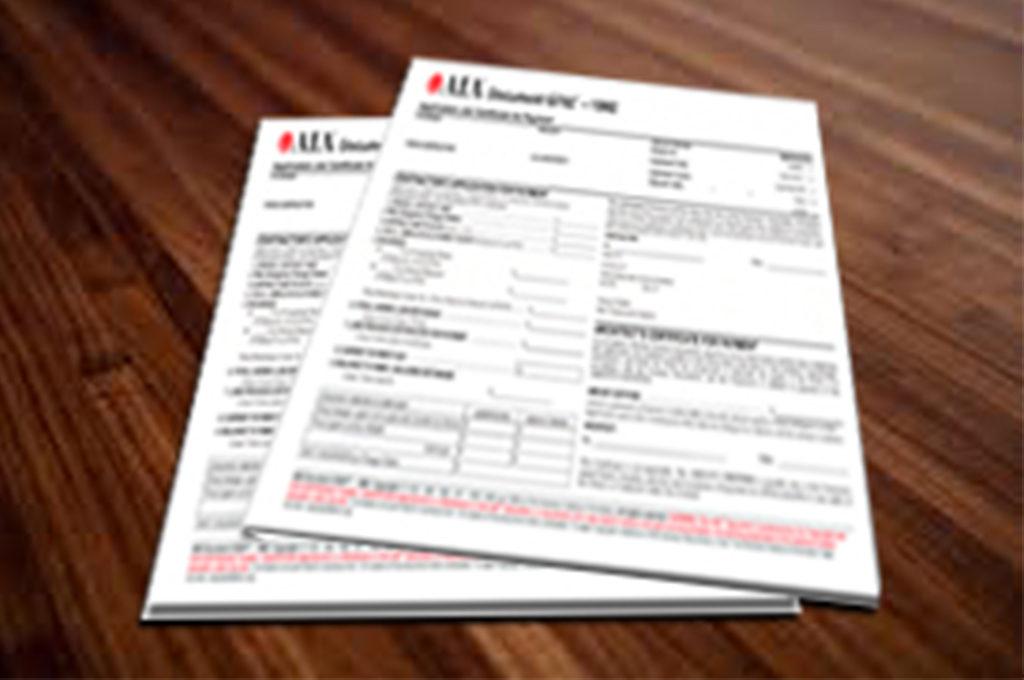 Document on Desk