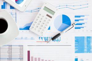 Asset Management Financial Analysis Chart