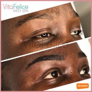 Henna-Brows-New Westminster on melanin rich girl