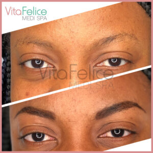 Henna-Brows-New-Westminster before and after