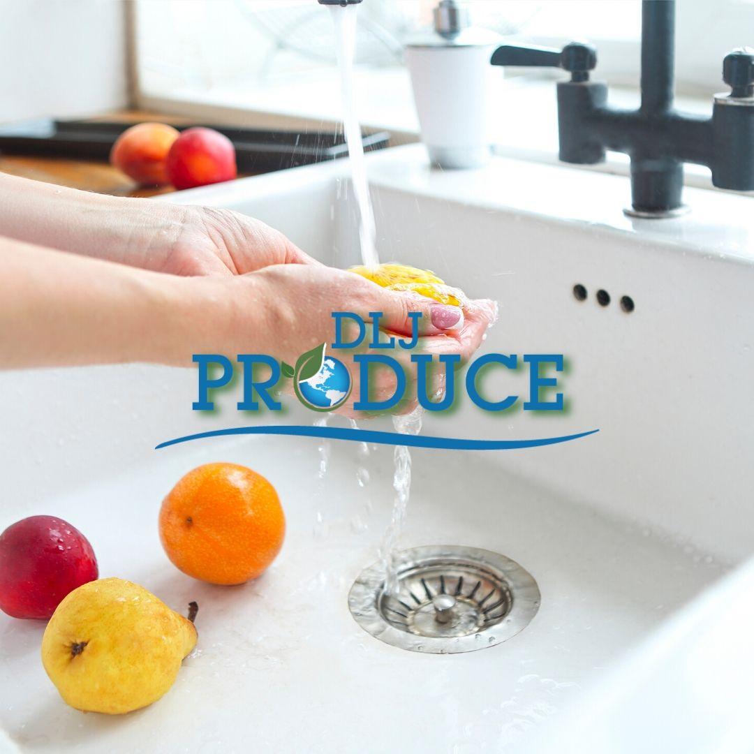 washing produce tips from dlj produce