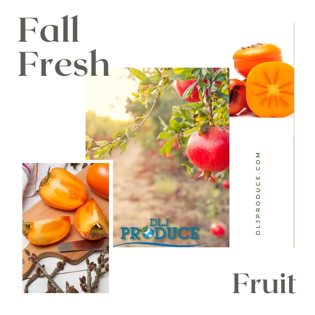 The Delicious P's: Pomegranate and Persimmons