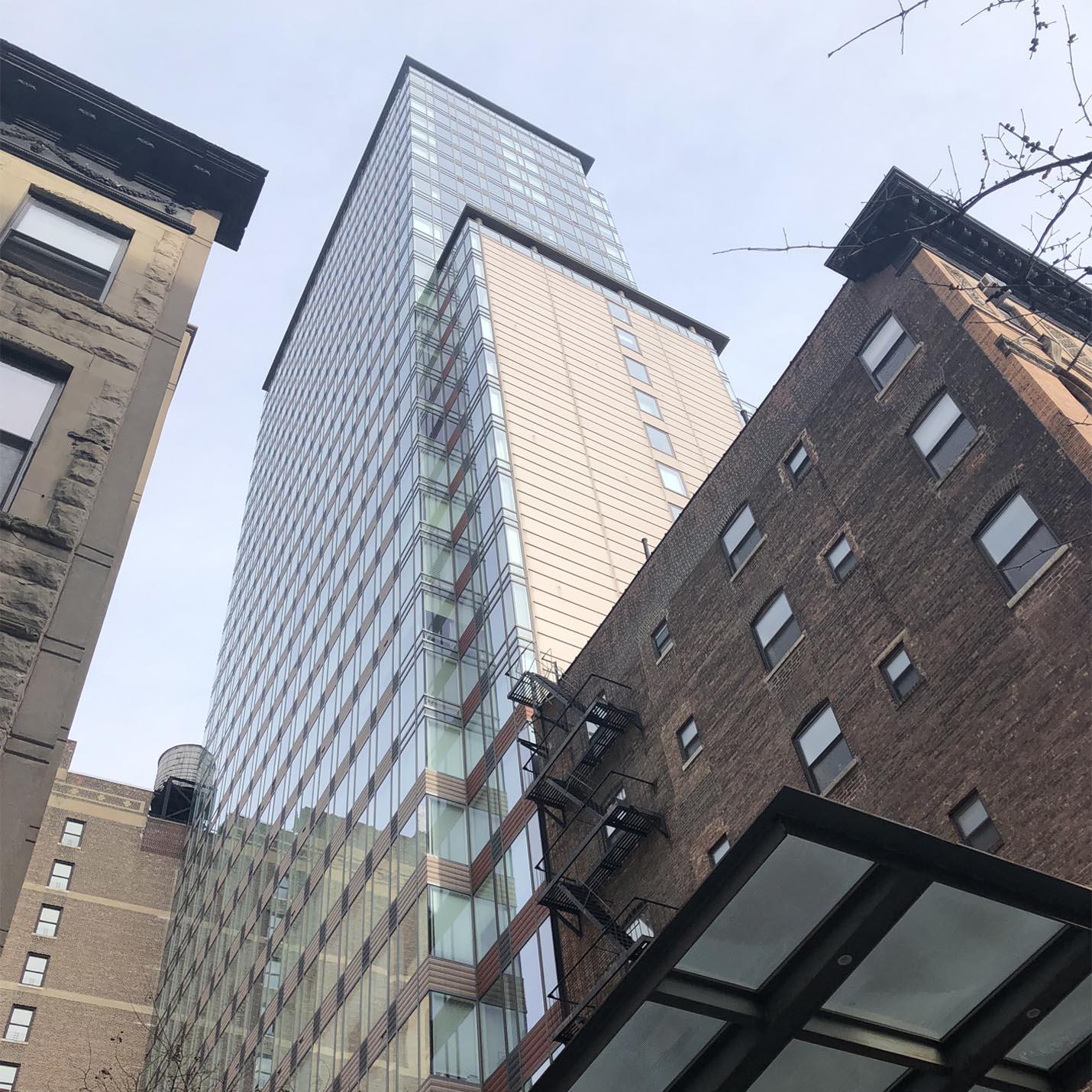 Ariel West Building Looking Up