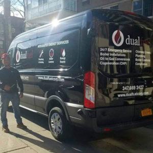 Dual Fuel Van with Driver