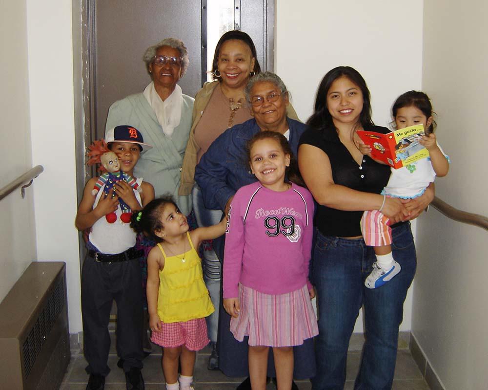 Residents of a JOE Building