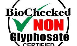 Glyphosate Free - Non Glyphosate Certification
