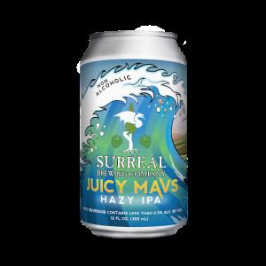 NA Beer Juicy Mavs Surreal Brewing Co.