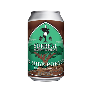 Can of 17 Mile Porter non-alcoholic IPA beer