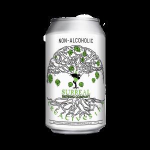 Can of Surreal Brewing Creatives IPA non-alcoholic IPA beer