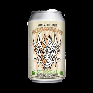 Can of Surreal Brewing Non alcoholic Milkshake IPA