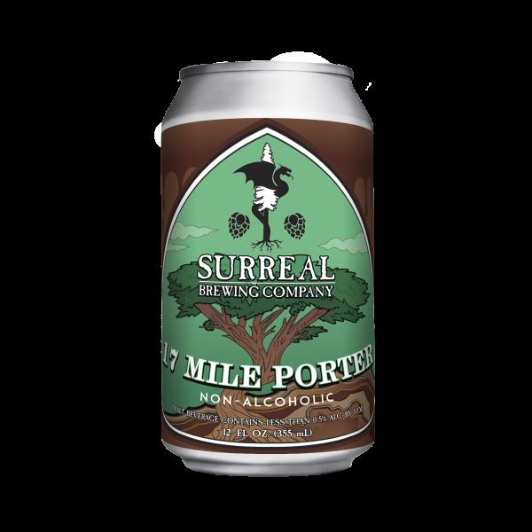 NA Craft Beer 17 Mile Porter