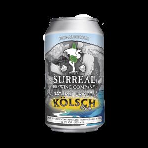 Can of Surreal Brewing Natural Bridges non-alcoholic IPA beer